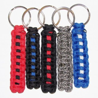 Paracord Survival Keychains