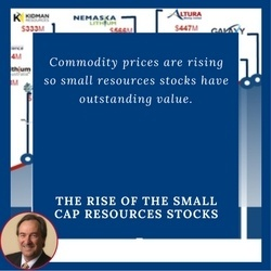 Dawes Points: The Rise Of The Small Cap Resources Stocks