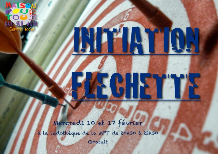 initiation fléchette