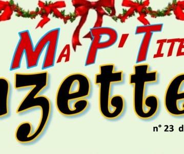 Ma P'tite Gazette de Noël !