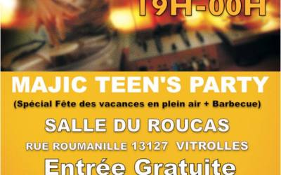 teen's party du 1er juillet 2016