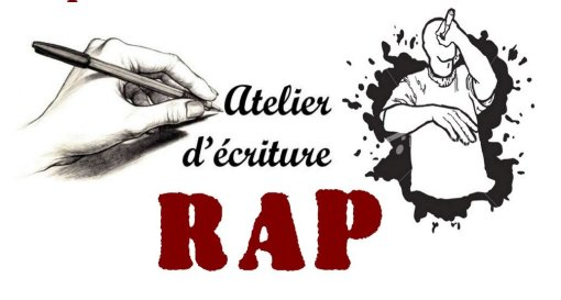 Atelier d'écriture RAP/HIP HOP