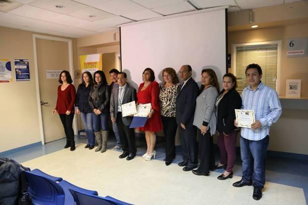 Reconocimiento entregado por Joyeria Casa Blanca y Consulado General del Ecuador