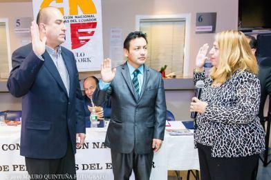 "Juramentacion Confederacion Nacional de Periodistas del Ecuador ""Capitulo New York"""