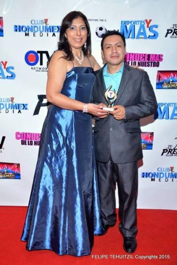 Reconocimiento a la Prensa por Premios Club Hondumex