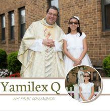 Primera Comunion de Yamilex