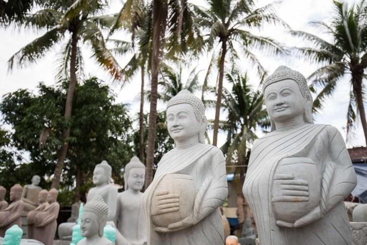 柬埔寨石雕