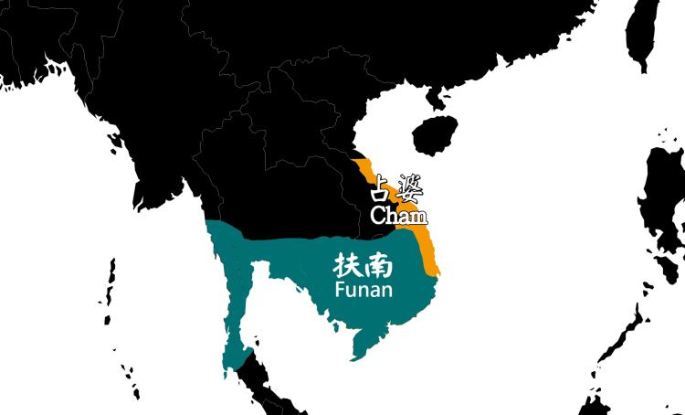 占婆 (Cham) 位置