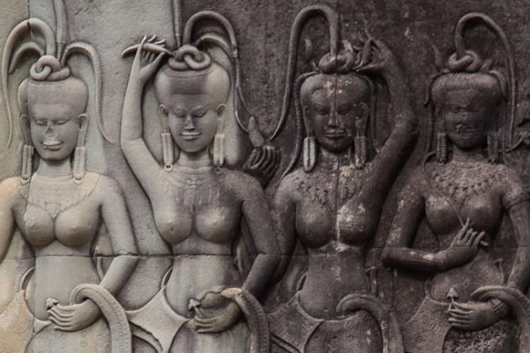 吴哥窟 Apsara 仙女