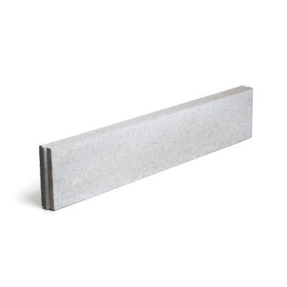 bordure en beton grise 100 x 30 x 6 cm mr bricolage