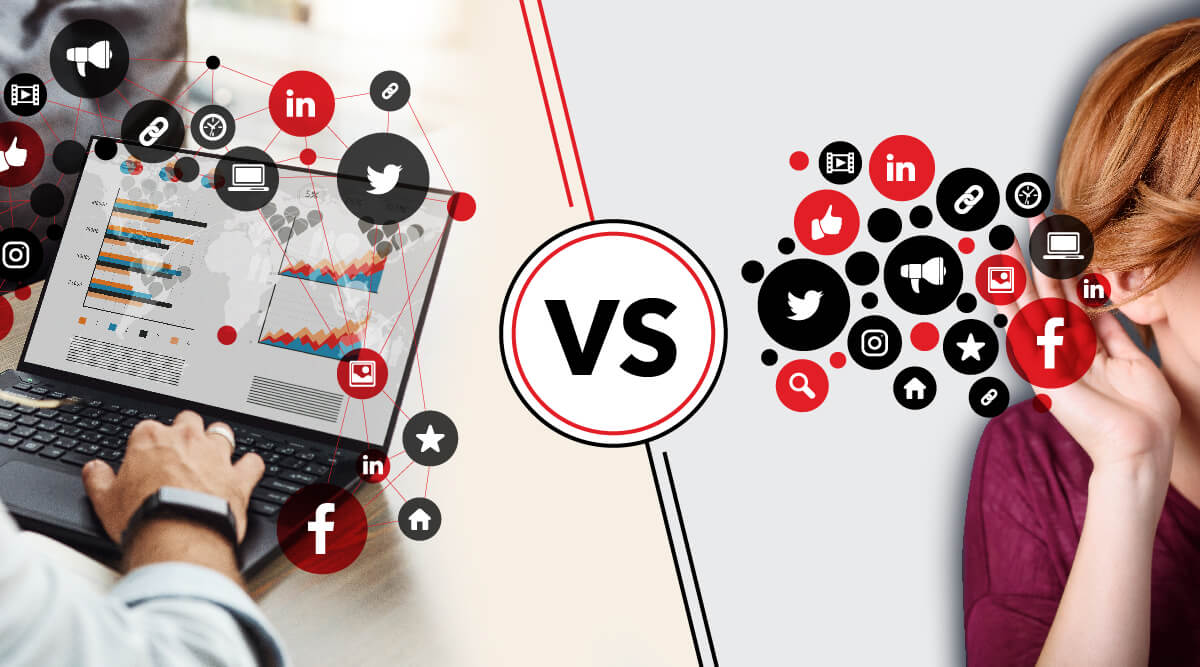 Social Listening vs Social Monitoring