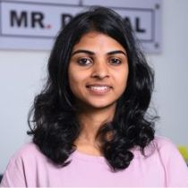 Sherin, copywriter at Mr Digital Marketing Agency