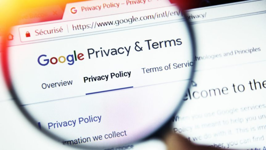 Google Chrome Privacy Terms