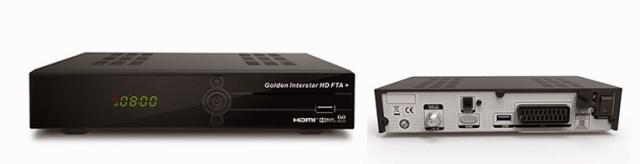Glden Interstar NEU! HD FTA + Satellite Receiver