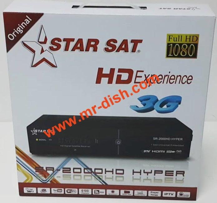 STAR SAT SR-2000 HD HYPER POWERVU SOFTWARE TEN SPORT OK