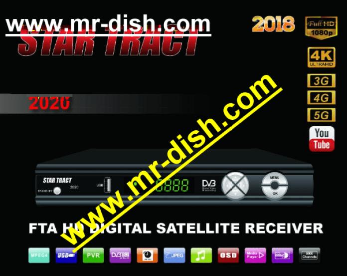 STAR TRACT 2020 2018 HD RECEIVER AUTOROLL POWERVU KEY LATEST SOFTWARE