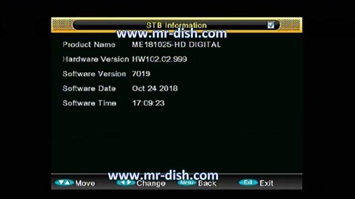 ALI 3510C HW102.02.999 RECEIVER POWERVU SOFTWARE