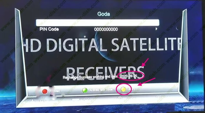 1506TV NEW RECEIVER WITH GODA AND DSCAM 1 YEAR FREE