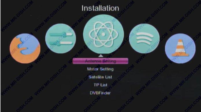 New Software Menu Style