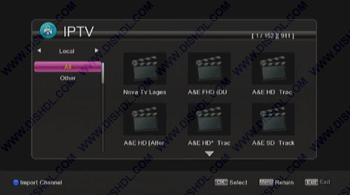 IPTV Gx6605S 5815