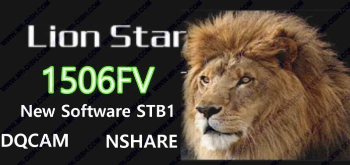 LION STAR 6464 1506FV SOFTWARE UPDATE
