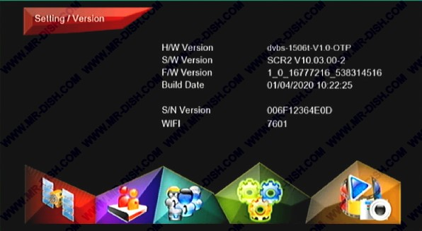 1506T SCR2 NEW SOFTWARE WITH WSCAM
