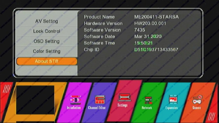 GX6605S HW203.00.001 SOFTWARE WITH CCCAM AND DLNA