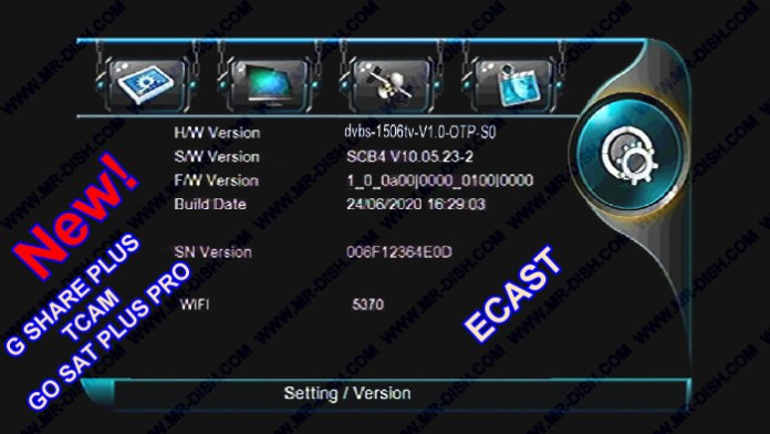 MULTIMEDIA 1506TV SCB4 NEW SOFTWARE UPDATE