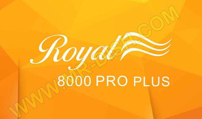 ROYAL 8000 PRO PLUS 1506TV 4M NEW SOFTWARE