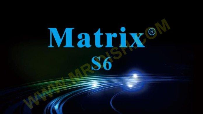 MATRIX ASH S6 1506T SGG1 RECEIVER NEW SOFTWARE