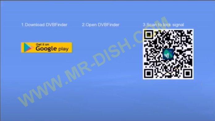 GX6605S RECEIVER DVB Finder