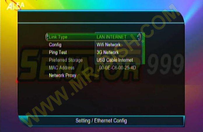 SENATOR 999 1507G 1G 8M Network Option