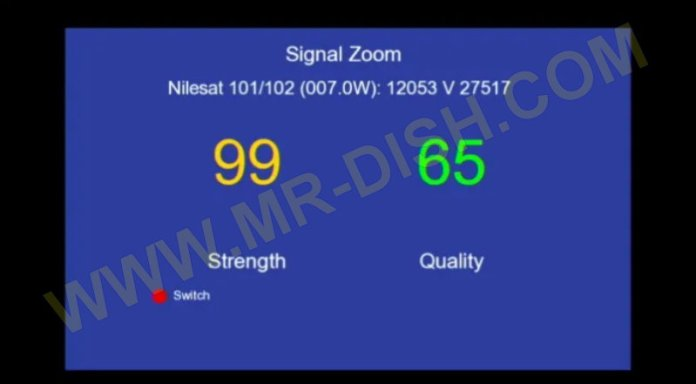 DISCOVERY 6666 1506TV Zoom Signal