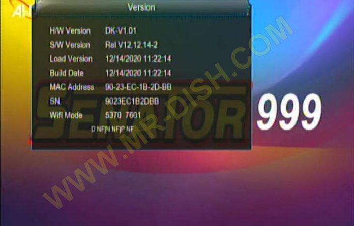 SENATOR 999 1507G 1G 8M NEW SOFTWARE UPDATE