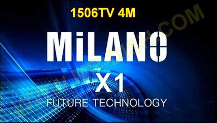 MILANO X1 RECEIVER SOFTWARE V11.03.21