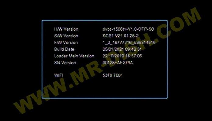SAT INTEGRAL SP-1219HD 1506TV 8MB NEW SOFTWARE Information