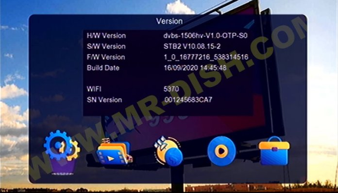 NEW GOLD 999 1506HV 4MB STB2 SOFTWARE Information