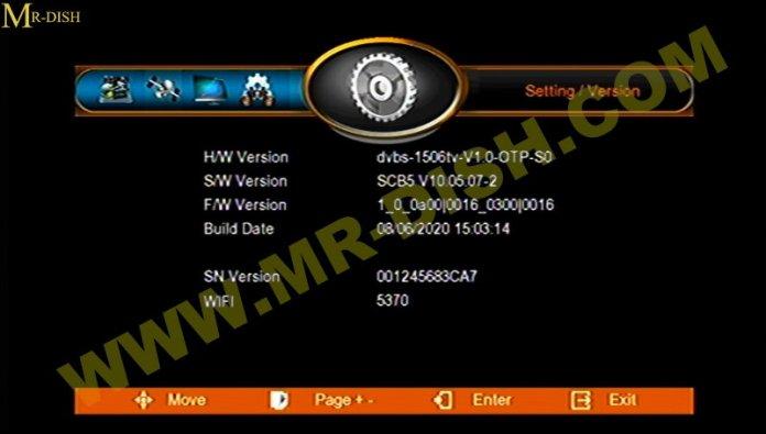RIO 999 PLUS 1506TV SCB5 SOFTWARE Information