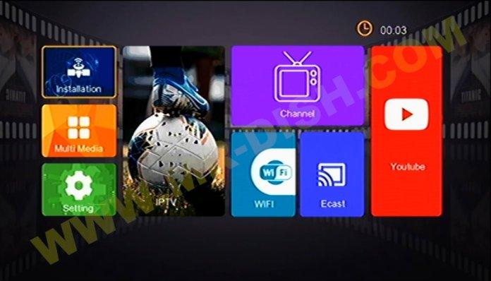STAR NET 9000 1506TV SVC2 MENU