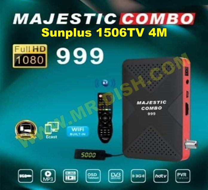 MAJESTIC COMBO 999 1506TV SEB3 NEW SOFTWARE