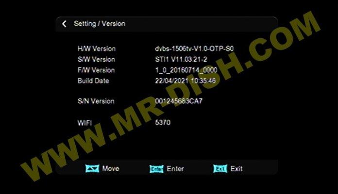 ORYX M5 RECEIVER SOFTWARE V11.03.21