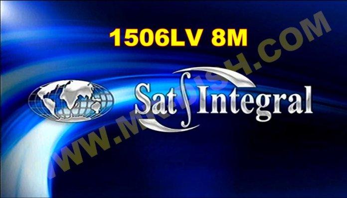 SAT INTEGRAL 1506LV 8M NEW SOFTWARE