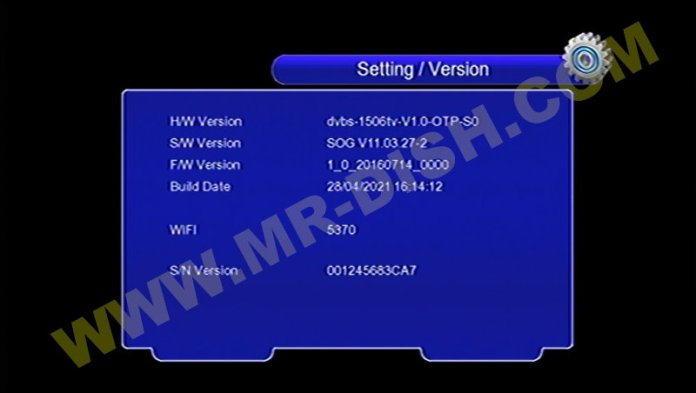 DISCOVERY DR-555 X9 1506TV 4M NEW SOFTWARE V11.03.27-2