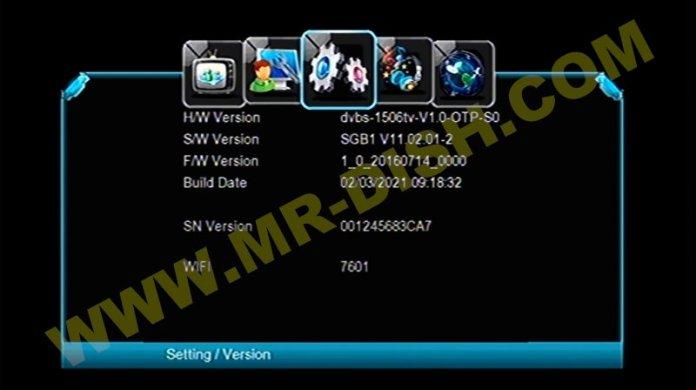 LION STAR T2 PRO 1506TV Software Version