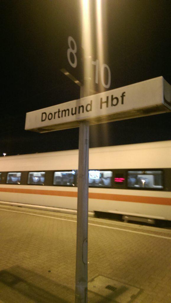 Waiting at Dortmund