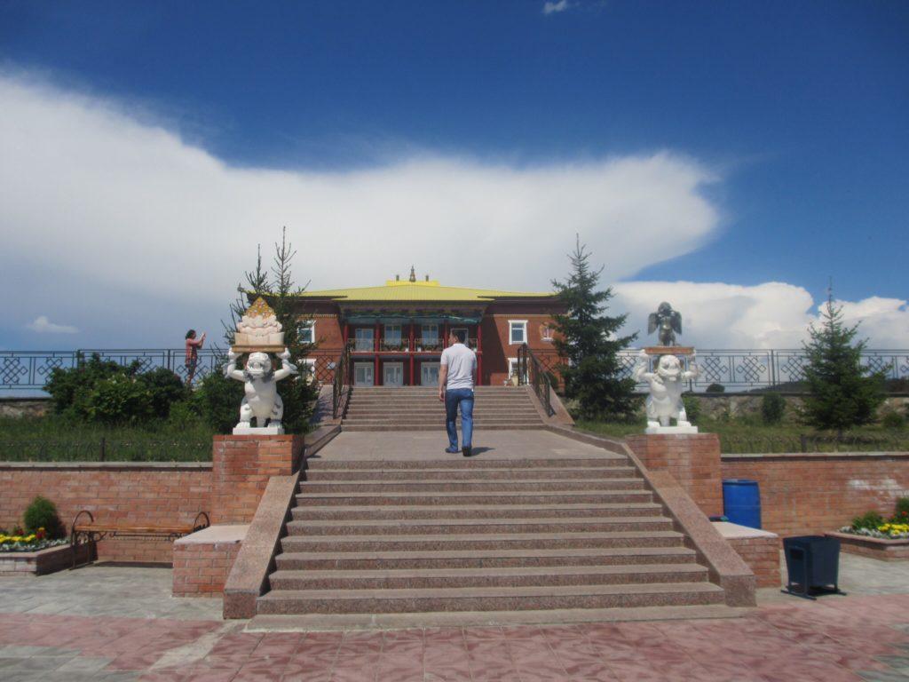 Rinpoche Bagsha Datsan (Buddhist Temple) in Ulan Ude, Siberia, Russia