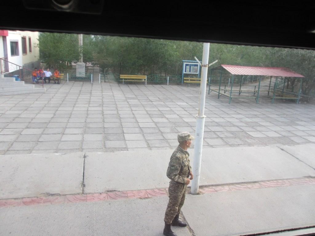 Guard at the border