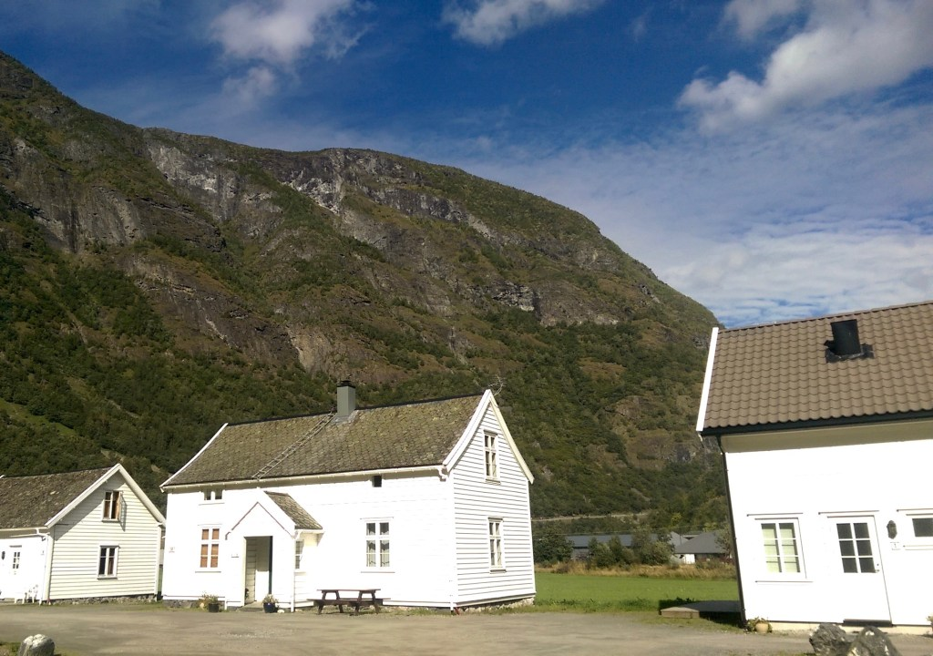 My hostel in Flam, Norway