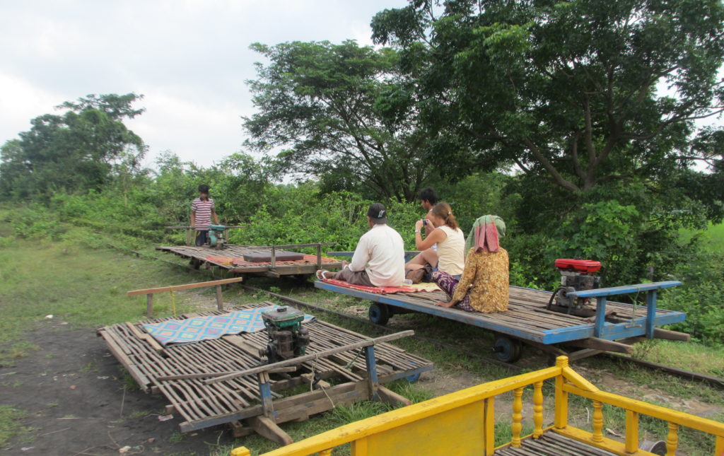 More than tuk tuks - why not a bamboo train in Cambodia?