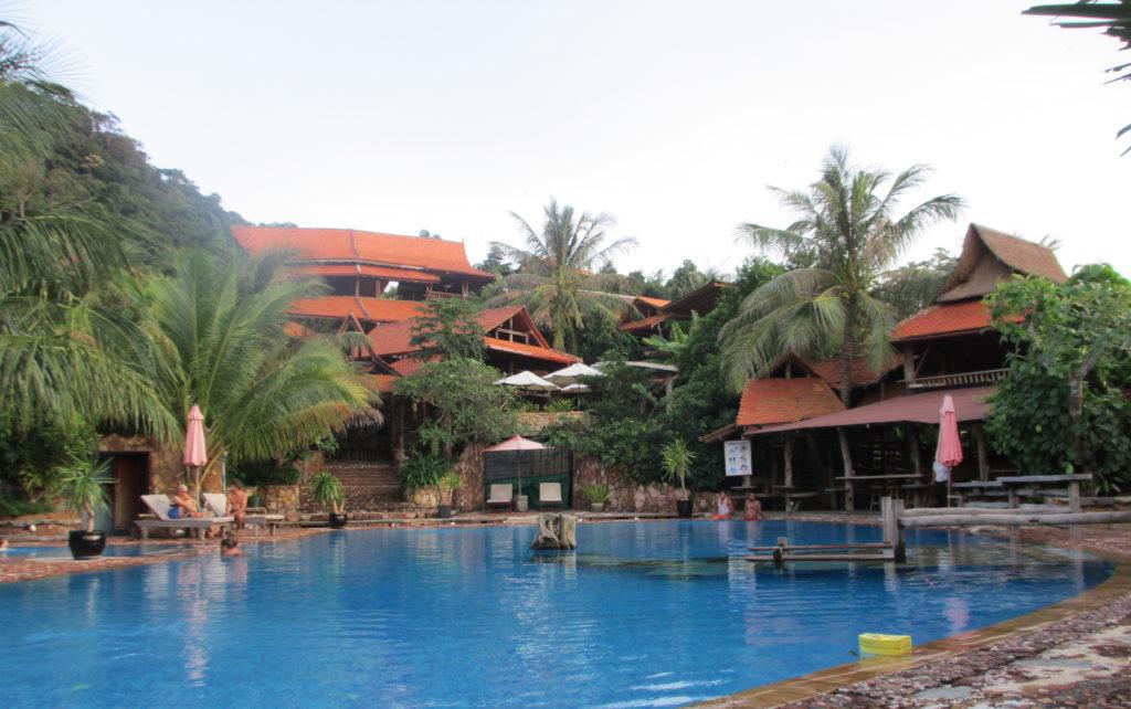 Resort in Cambodia - the pool